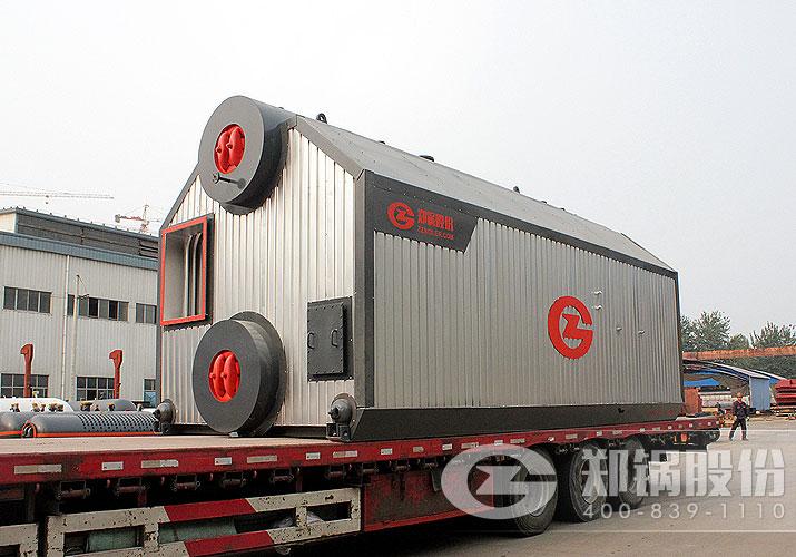 宇通客车制造业75吨链条炉排燃煤锅炉项目案例