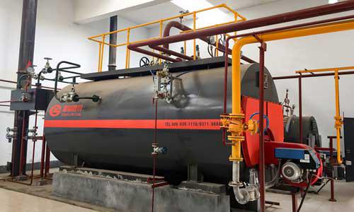 北京热力公司10吨20吨燃气热水锅炉项目