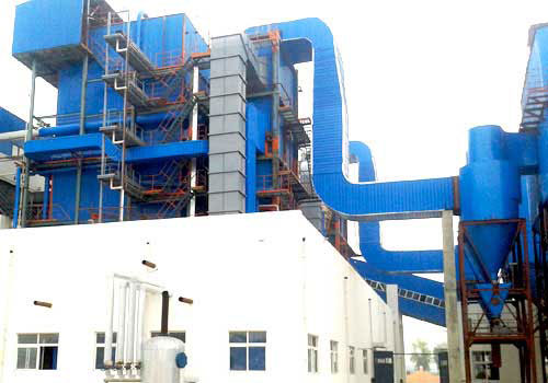 制药厂75吨生物质蒸汽发电两用锅炉的型号参数及案例