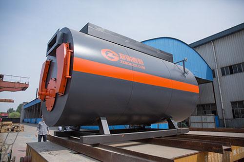 20吨WNS型燃气热水锅炉的型号参数及项目案例