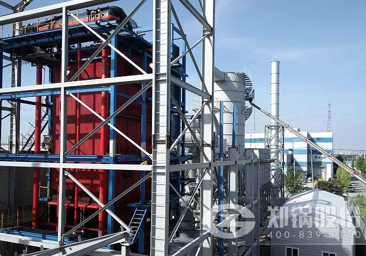 热力公司46MW角管链条炉排燃煤热水锅炉项目