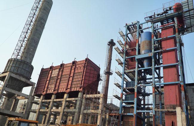 印度火电厂35吨循环流化床电站锅炉项目