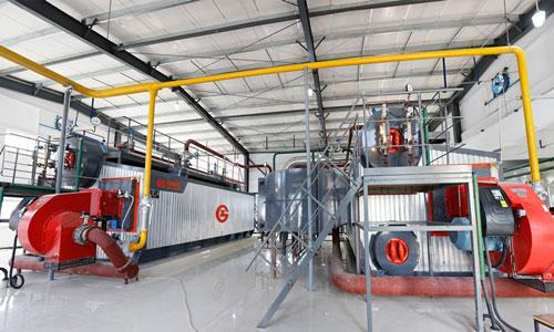 巩义冶金厂10吨SZS型燃气锅炉项目